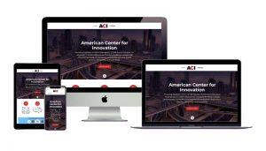 American Center for Innovation website