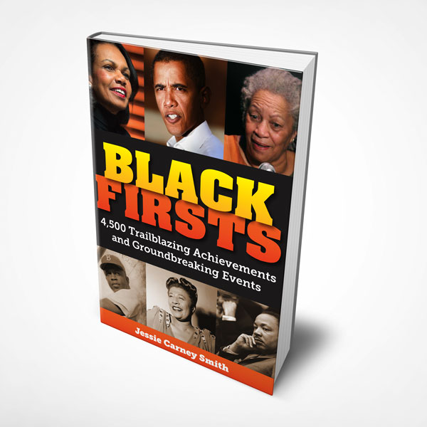 Book design sample of Black Firsts