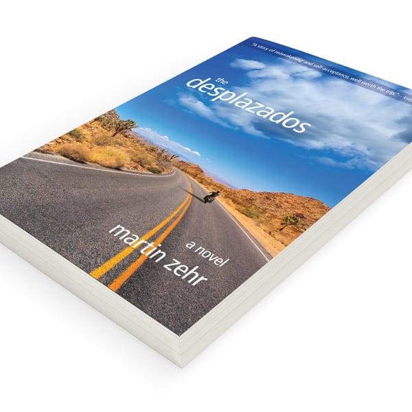Book design sample of The Desplazados