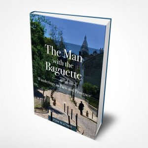 Book design sample of The Man with the Baguette