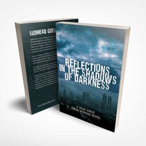 Book design sample of Reflections in the Shadows of Darkness