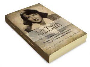 Book design sample of The Twain Shall Meet