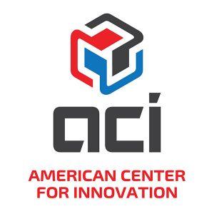 American Center for Innovation logo design
