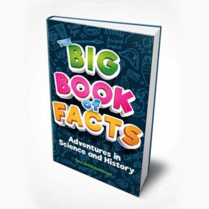 Cover design for the Big Book of Facts