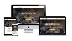 The Cortex Group website design sample