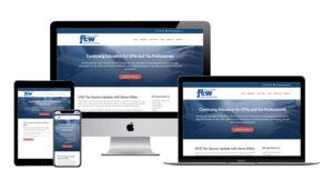 Federal Tax Workshops website design sample